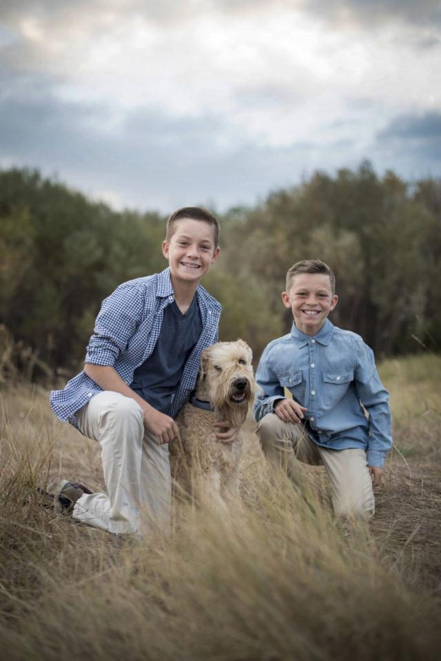 Broomfield Colorado family portrait photographer